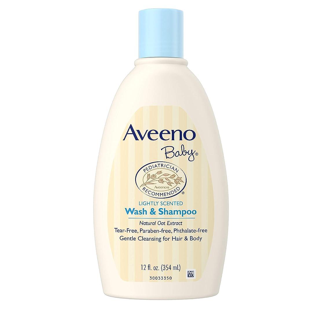 呪いビームゆるくAveeno Baby Wash and Shampoo - 12.0 oz.