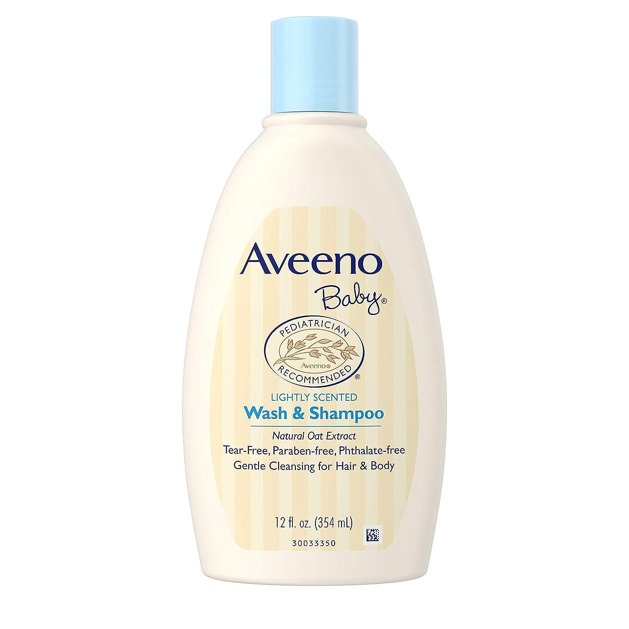 開始現代天窓Aveeno Baby Wash and Shampoo - 12.0 oz.