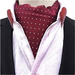 maroon cravat