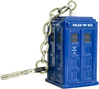 Doctor Who Keychain - Tardis Die Cast Key Ring