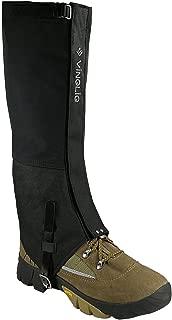 Vinqliq Durable Waterproof Breathable Hiking Ski Snow Climbing Hunting High Leg Gaiters for Men and Women