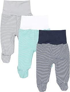TupTam Pantaloni con Piedi da Neonato per Bambina 5 Pezzi