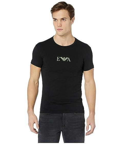 Emporio Armani Monogram Single Pack Crew Neck T-Shirt