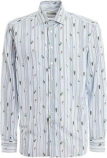 ETRO Luxury Fashion Mens 129086250990 Light Blue Shirt | Spring Summer 20