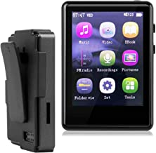 MP3 Player, MP3 Player with Bluetooth, 32GB SD Card Clip MP3 Player with FM Radio/Voice Recorder, Music Player with Touch ... photo