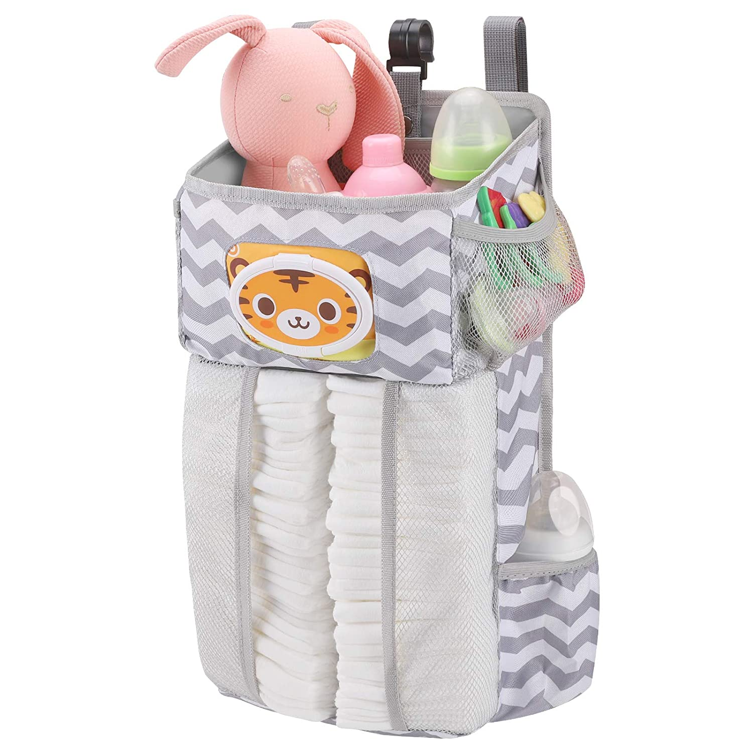 Accmor Hanging Baby Be super welcome Diaper Max 55% OFF Caddy Paper with Di Organizer Pocket
