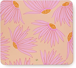 Kate Spade New York Pink Floral Leatherette Mouse Pad, 9