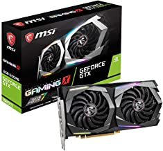 MSI Gaming GeForce GTX 1660 Ti 192-bit HDMI/DP 6GB GDRR6 HDCP Support DirectX 12 Dual Fan VR Ready OC Graphics Card (GTX 1...