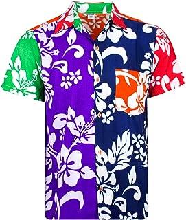 Funky Hawaii camicia shirt DI NATALE CHRISTMAS MUSICA NERO HAWAII