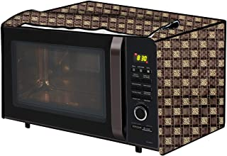 The Furnishing Tree Microwave Oven Cover for IFB 38 L Convection 38SRC1 Basketweave Pattern Brown