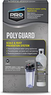 Poly Guard GP15S System Hard Water Softener Alternative, Includes System and Crystal Cartridge