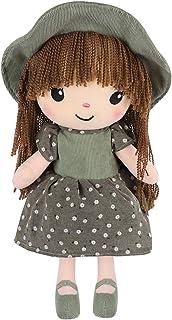 35cm tairong Babypuppe mit Kleidung Nette weiche Stoffpuppe Sch/öne Stoffpuppe Spielzeug Kleine Augen Handgemachte Stoffpuppen Baby M/ädchen Schlafpartner Puppe M/ädchen