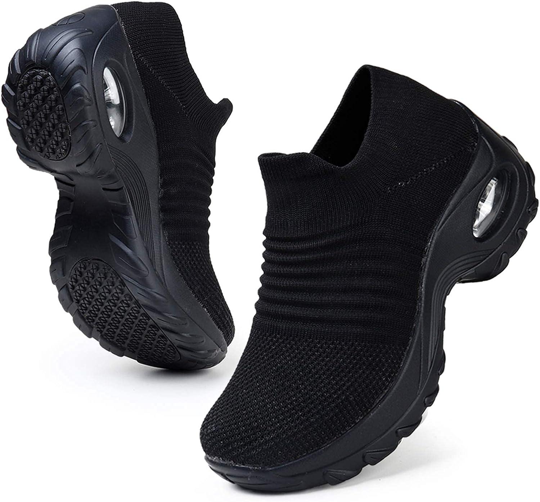 HKR Deportivas Mujer de Zapatillas Running Deporte Caminar Comodos