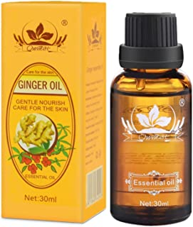 JUYOU New Lymphatic Drainage Ginger Oil (30ml 1 Pack)