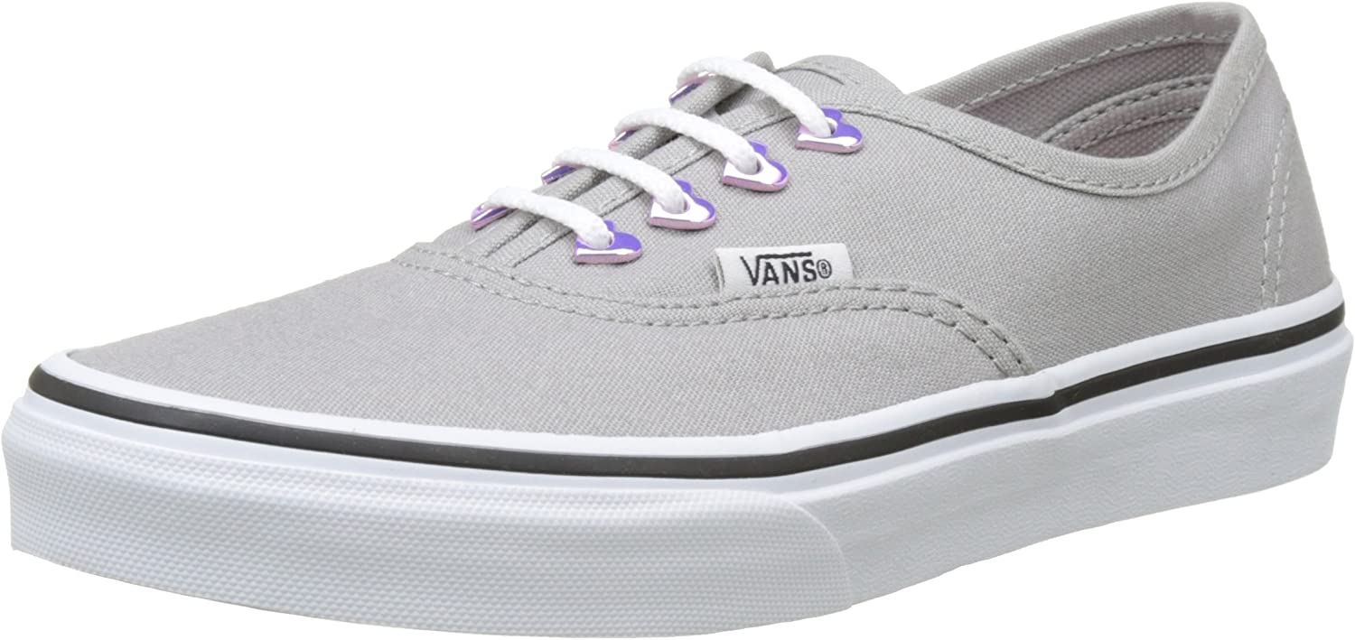 Vans Authentic Eyelet Hearts/Grey Toddler Shoes