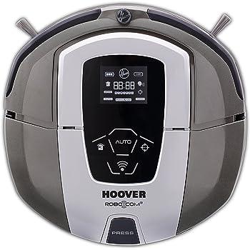 Hoover RBC090 - Robot aspirador con filtro HEPA y WIFI, hasta 120 mins. de autonomía, programable diario/semanal, incluye 2 muros virtuales, color titanium metallic: Hoover: Amazon.es: Hogar