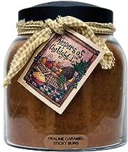 A Cheerful Giver Praline Caramel Sticky Buns Papa Jar Candle, 34-Ounce