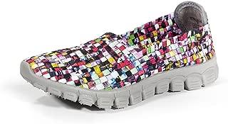Zee Alexis Women's Stella Woven Slip On Shoe Mosaic 41 US 10-10.5