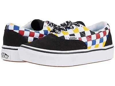 Vans Kids ComfyCush Era (Little Kid) ((Checkerboard) Multi/Black) Boys Shoes