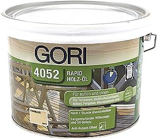 Gori 4052 Rapid Holzöl 9900 Farblos, 2,50 Liter