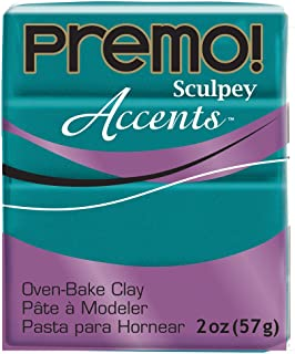 Premo Sculpey Polymer Clay 2 Ounces-Peacock Pearl (PE02 5038)