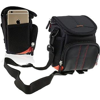 Navitech Purple Portable Camera Shoulder Bag Compatible With The Canon EOS 250D Camera
