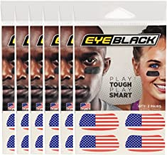 american flag eye black