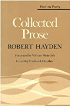 Collected Prose (Poets On Poetry)