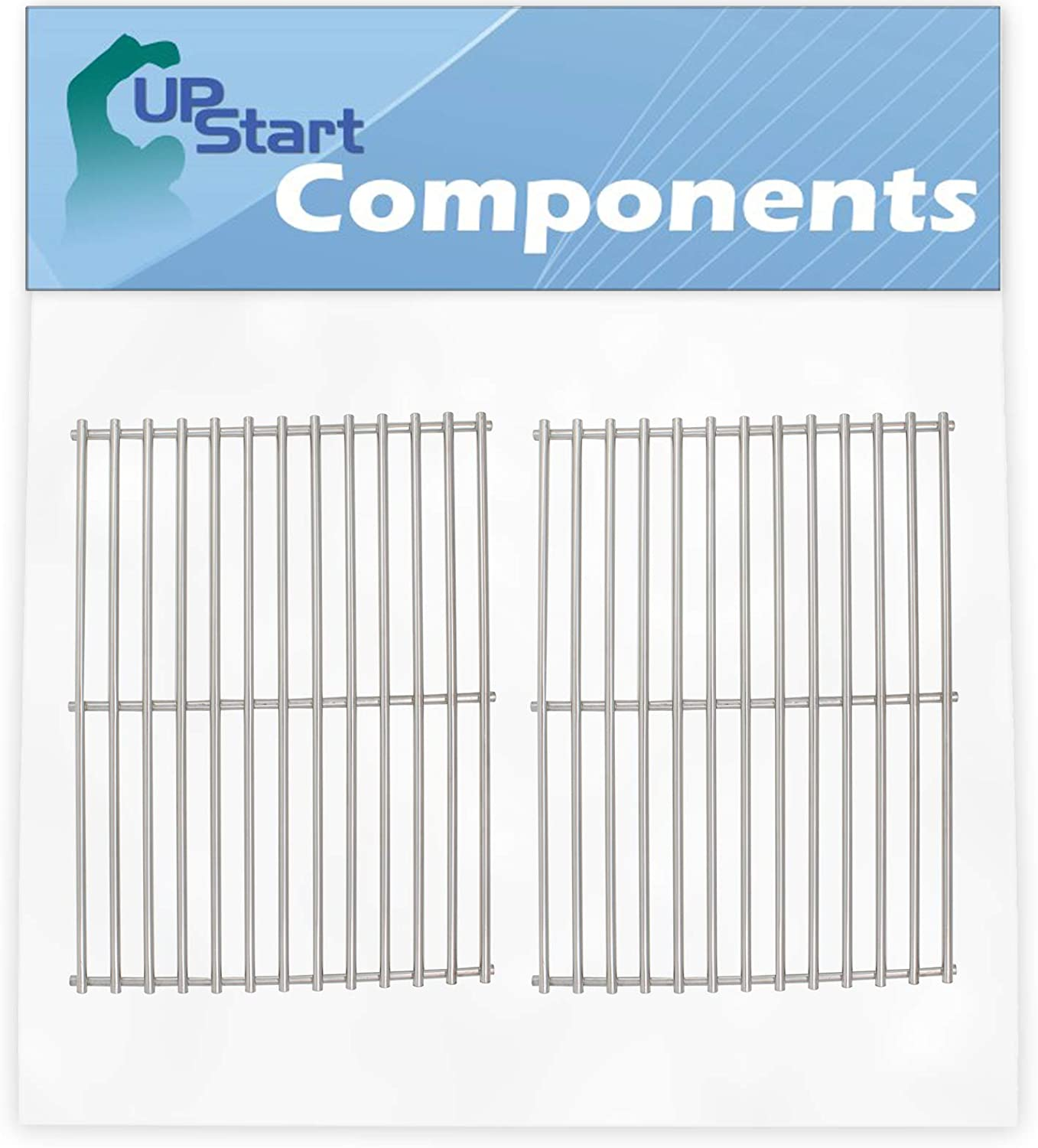 UpStart Components 2-Pack BBQ Grill Replacement Cooking P Max 55% OFF Directly managed store Grates
