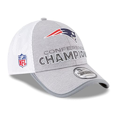 New England Patriots New Era 2017 AFC Champions Locker Room Trophy  Collection 9FORTY Adjustable Hat – ac3ba20afab7