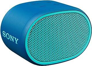ソニー ワイヤレスポータブルスピーカー SRS-XB01 L : 防水 Bluetooth スマホなしで操作可能 ストラップ付属 2018年モデル / マイク付き/  ブルー