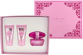 Versace Bright Crystal Absolu Gift Set 1.7oz (50ml) EDP + 1.7oz (50ml) Body Lotion + 1.7oz (50ml) Sh