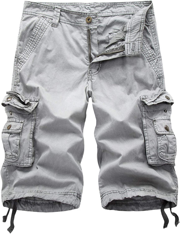 Men's Classic Regular Version Shorts Summer Fashion Solid Color