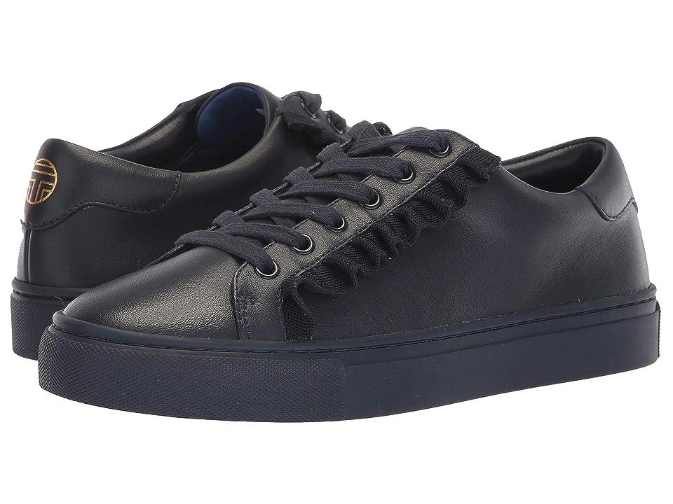 Tory Sport Ruffle Sneaker (Bright Navy/Bright Navy/Bright Navy) Women