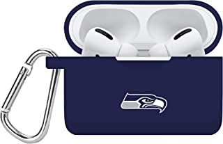 GAME TIME Seattle Seahawks Silicone Case Cover Compatible with Apple AirPods Pro Battery Case - Navy