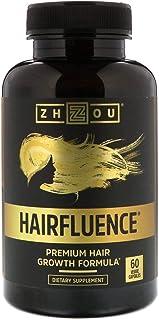 Zhou Nutrition, Hairfluence, Premium Hair Growth Formula, 60 Veggie Capsules