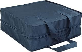 Wenko 64535100 商务鞋袋 鞋袋 6 个隔层 36 × 36 × 14 厘米 深蓝色
