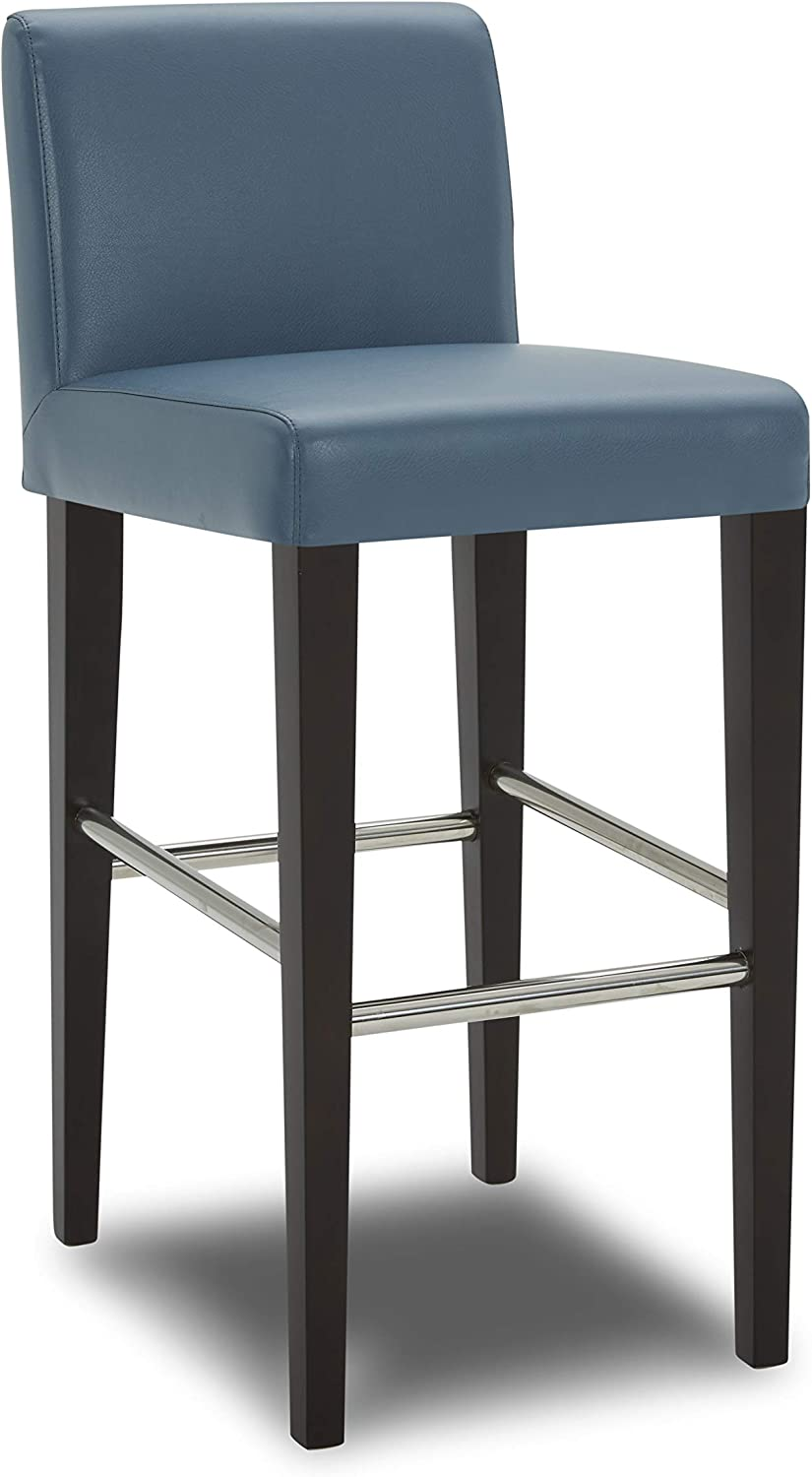 CHITA Bar Height Shipping included Bartool Upholstered Faux Leather shipfree 30 Stool