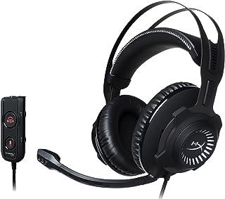HyperX Cloud Revolver S - Audífonos para gaming con Sonido Virtual Dolby 7.1 Surround - Estructura de acero - Micrófonos con cancelación de ruido TeamSpeak™ y Discord -Compatible con PC y PS4, Color Gun metal (HX-HSCR-BK/NA)