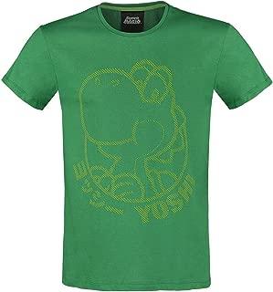 Rick et Morty Pickle Large Vert T-Shirt RAS du Cou /à Imprim/é Int/égral Rick