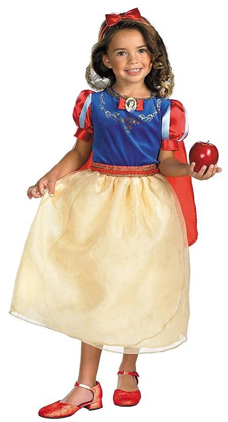 Disguise Snow White Dlx Child 7-8