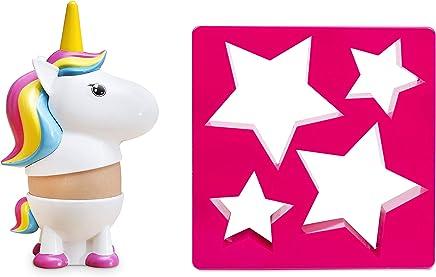 Preisvergleich für Thumbs Up Unigg Eierbecher und Toastausstecher, Einhorn, Pink