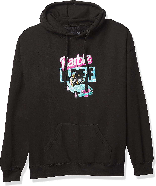 NEFF Men's Barbie Pullover Hooded Sweatshirt with Pockets