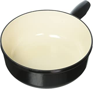 KUHN RIKON 32209 Fondue-pot inductie gietijzer 24cm in zwart, 33 x 24 x 9,5 cm