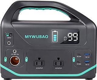 MYWUBAO Adventure Portable 500،555 WHr بطارية ليثيوم احتياطية لمحطة الطاقة لتشغيل أجهزة متعددة ، مولد للطاقة الشمسية (لا ي...