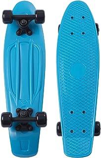 Movendless YD-0001 Quip Skateboard 22.5 Inches Classic Plastic Cruiser Skate Board,  Blue