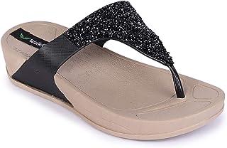 Walkfree Women's Casualwear T-Strap Slippers