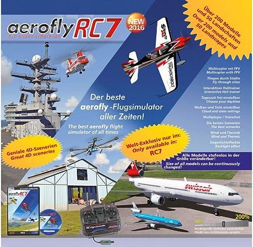 Jamara jamara065200 ight Simulator für Aero Fly RC7 timate Win Hubschrauber