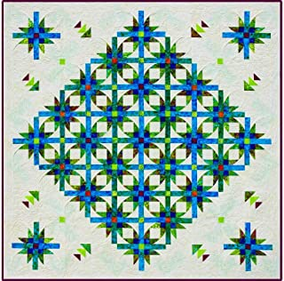 Mexican Star Dance Dimensional Quilt Pattern SWD-223-MS