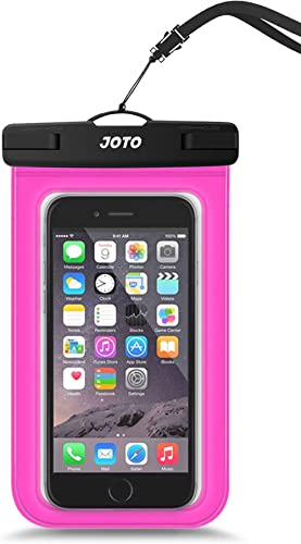 JOTO Universal Waterproof Pouch Cellphone Dry Bag Case for iPhone 11 Pro Max Xs Max XR X 8 7 6S Plus SE, Galaxy S20 U...